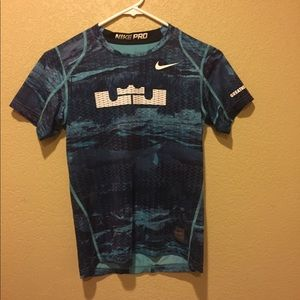 Nike Pro fitted workout shirt